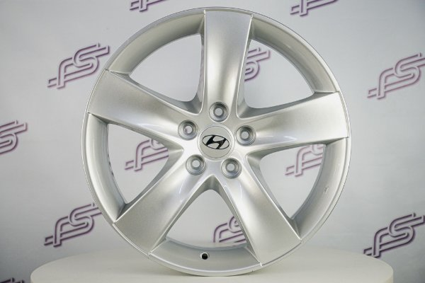 Jogo De Rodas Hyundai Vera Cruz Original Prata 5x114,3 - 18x7,5