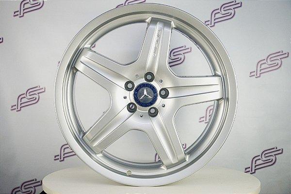 Jogo De Rodas Mercedes ML AMG Original Prata 5x112 - 20x10