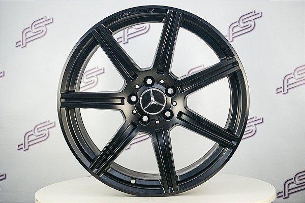 Jogo De Rodas Mercedes E-63 Preto 5x112 - 19x8,5 E 19x9,5