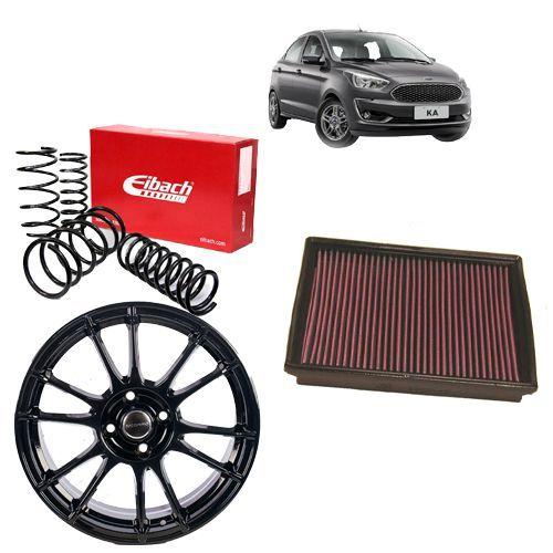 Combo Ford Fiesta (Roda + Mola Eibach + Filtro K&N)