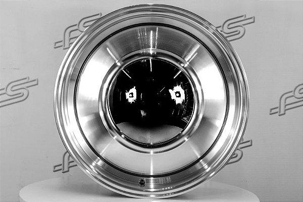 Roda Smoothie Diamantada aro 15 / Tala 7 / Furação 6X139,7