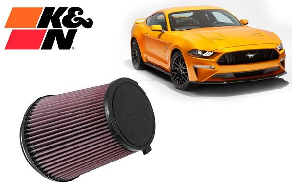Filtro K&N Ford Mustang Shelby v8 15+
