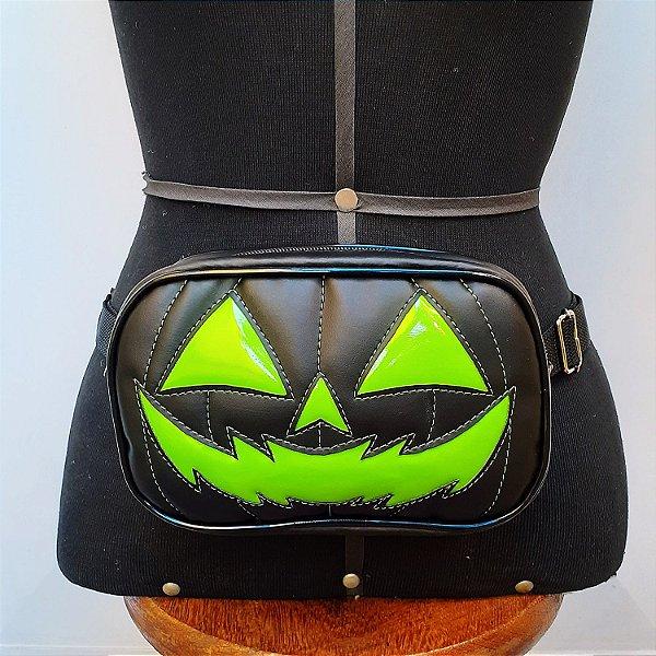 Pochete Pumpkin Verde e Preta