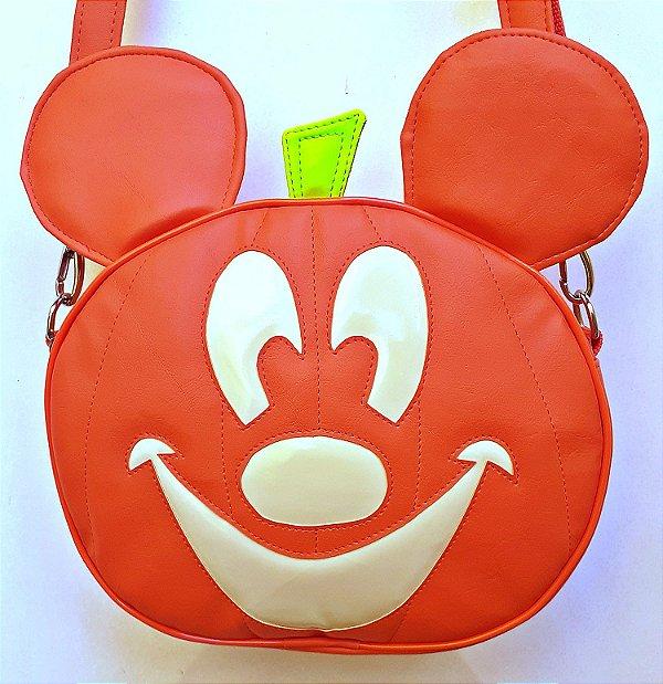 Bolsa Nara Prado Abobora Halloween Mickey