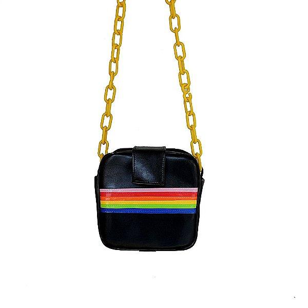 Bolsa Arco-íris Quadrada