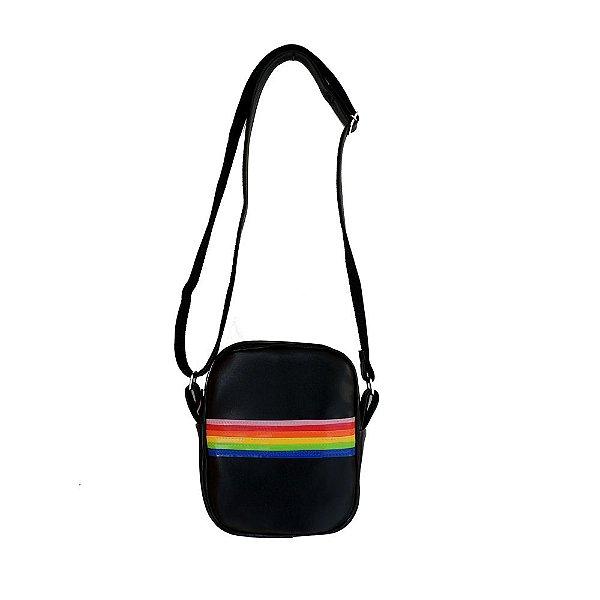 Bolsa Arco-íris Preta
