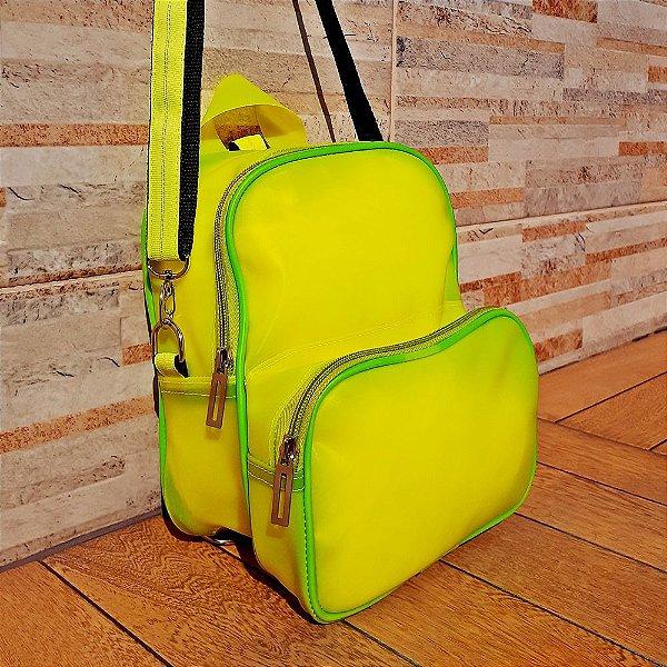 Mochila Neon Verde