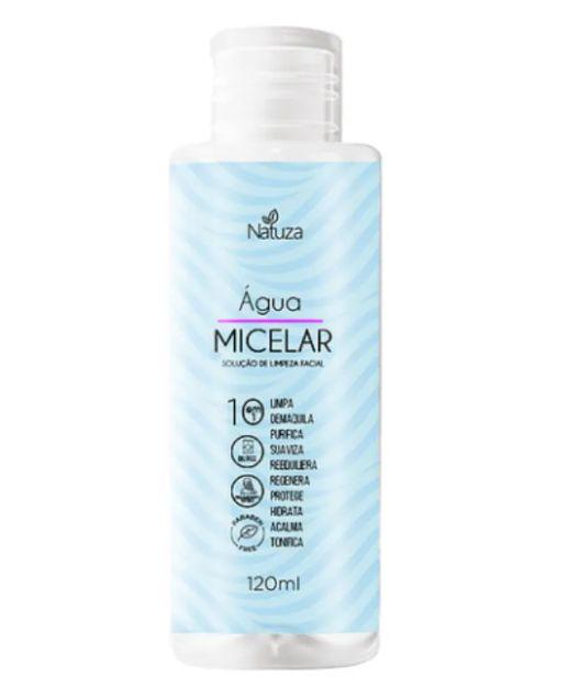 Solução de Limpeza Facial 10 em 1 - Água Micelar - 120ml