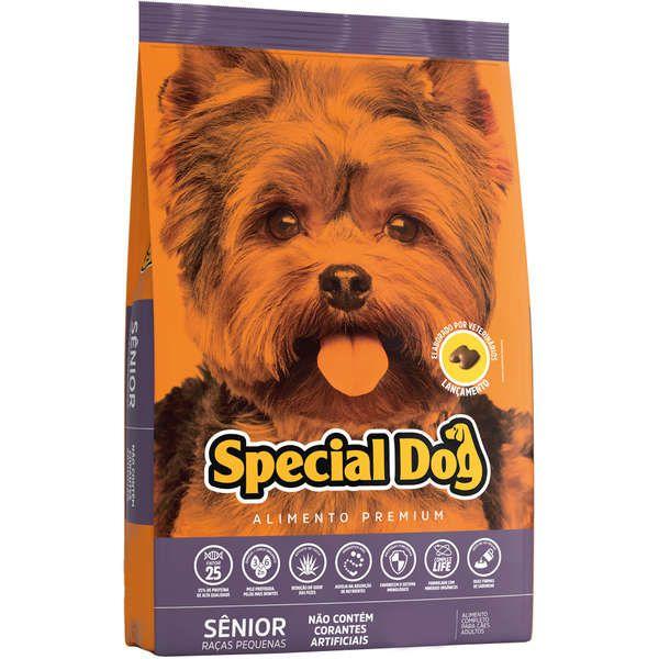 Ração Special Dog Sênior Premium para Cães Adultos de Raças Pequenas 3 kg