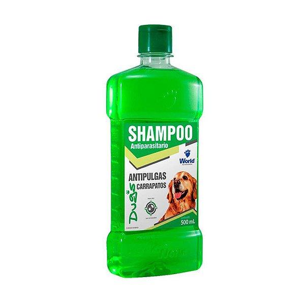 Shampoo Anti-Pulgas e Carrapato Dugs 500ml