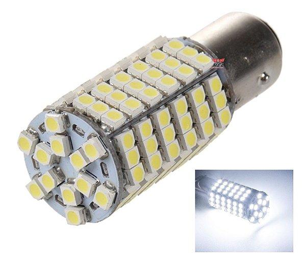 LAMPADA 120 LED BA15S 1 POLO P21W 1156 1141 BRANCO 12V