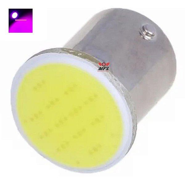 LAMPADA COB LED BA15S 1 POLO P21W 1156 1141 ROSA 12V