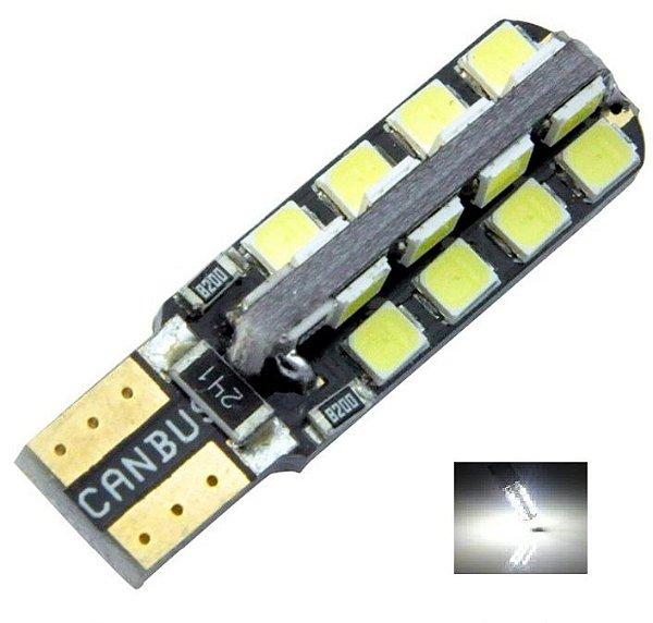 LAMPADA T10 CAMBUS 32 LED CANCELLER W5W BRANCO 12V