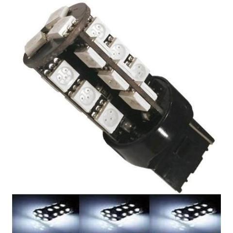 Lampada T20 Cambus 27 Led 2 Polo 7443 W21w Branco 12v