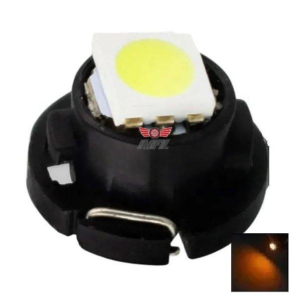 LAMPADA T3 8MM LED LARANJA 12V