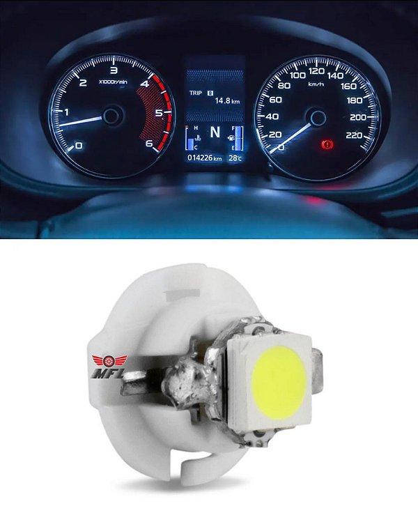 LAMPADA T5 B8.4 D 1 LED BRANCO 12V