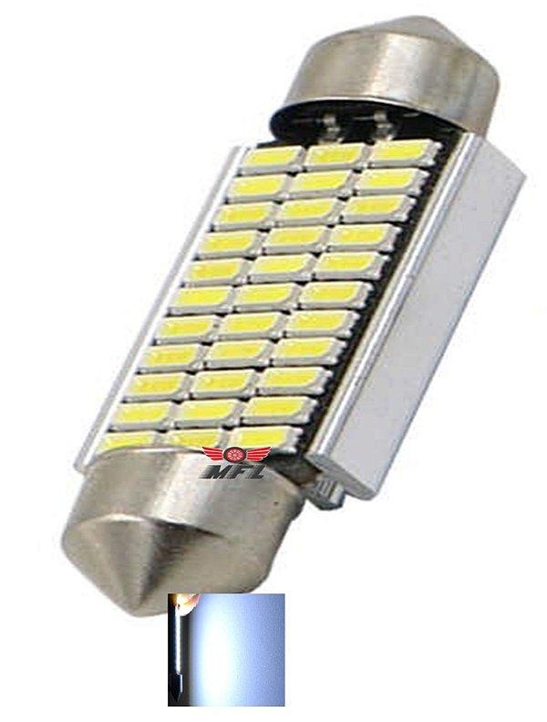 LAMPADA TORPEDO CAMBUS 33 LED C5W 41 MM BRANCO 12V