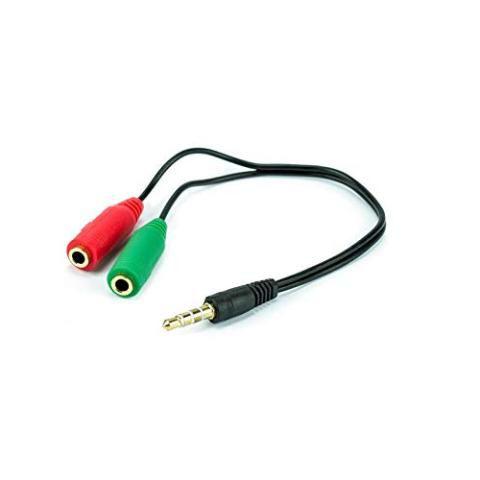 Adaptador P3 X P2 Microfone E Fone Celulares M3