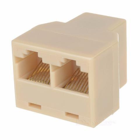 Divisor Adaptador Splitter Ethernet Rj45 Lan