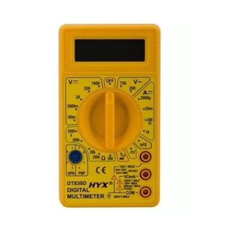 Multímetro Digital + Bateria 9v