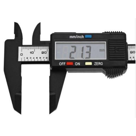 Paquimetro Digital Fibra De Carbono