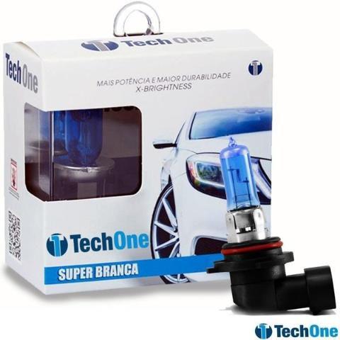 Par Lampada Super Branca H11 8500k Tipo Xenon 12v 55w Techone