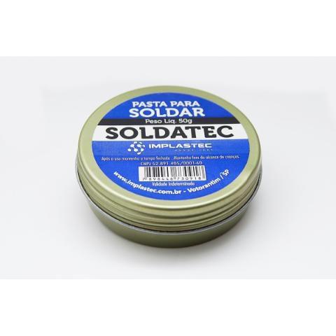 SOLDATEC 50GR - PASTA DE SOLDA IMPLASTEC