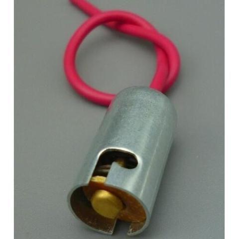 Soquete Ba15s Metal Com Chicote P21w