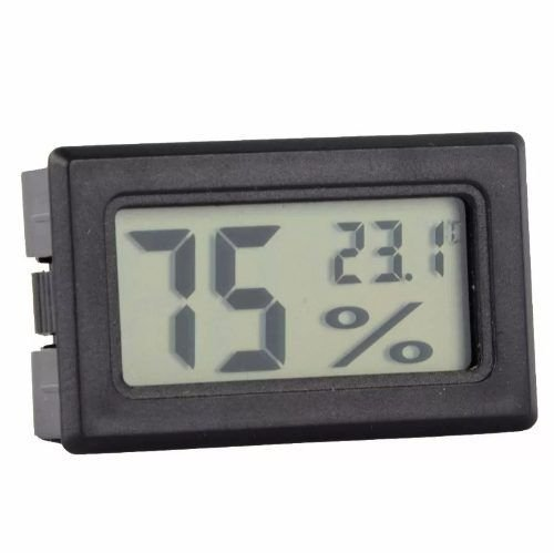 Termo-higrômetro Digital Higrômetro Chocadeira Uso Geral
