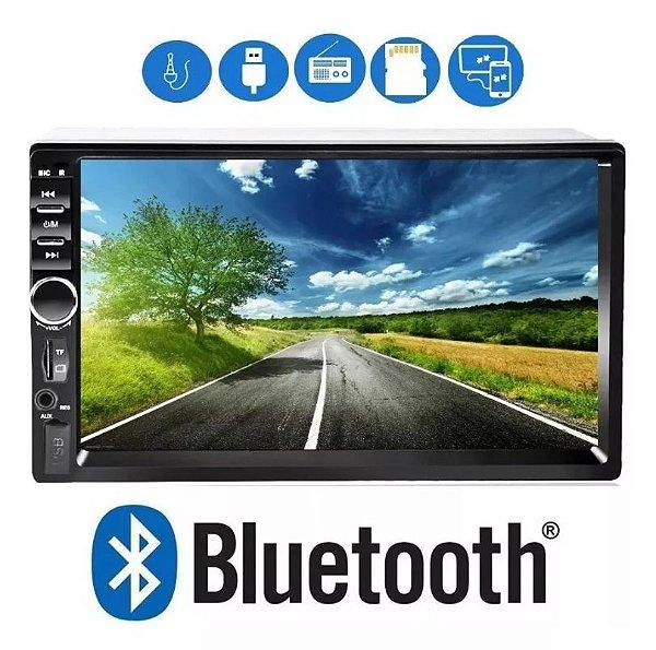Central Multimídia Mp5 Bluetooth Usb Sd E Espelhamento First Option