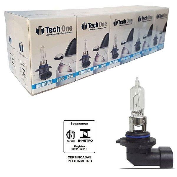 Lampada Halogena HB3 4300k 12v 60w Techone (unidade) 12v