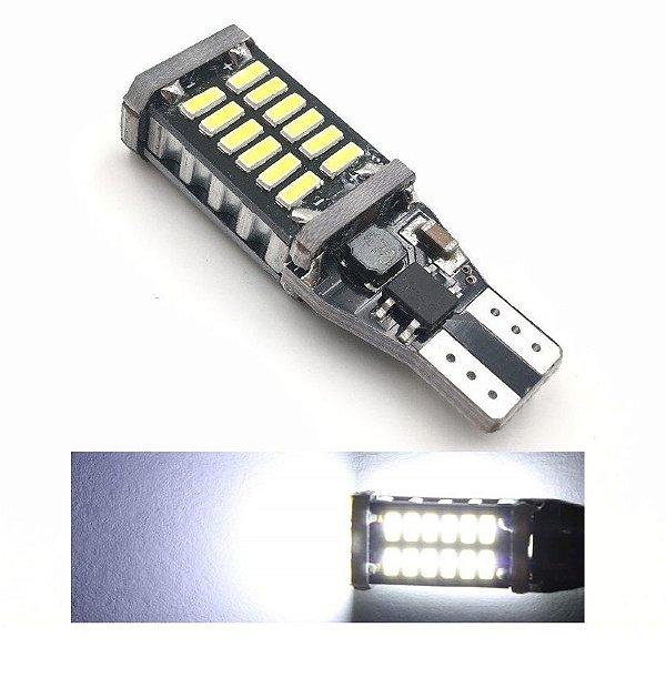 Lampada T15 Cambus 30 Led Canceller W16w Branco 12v