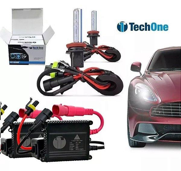 Kit Xenon H27 6000K TechOne