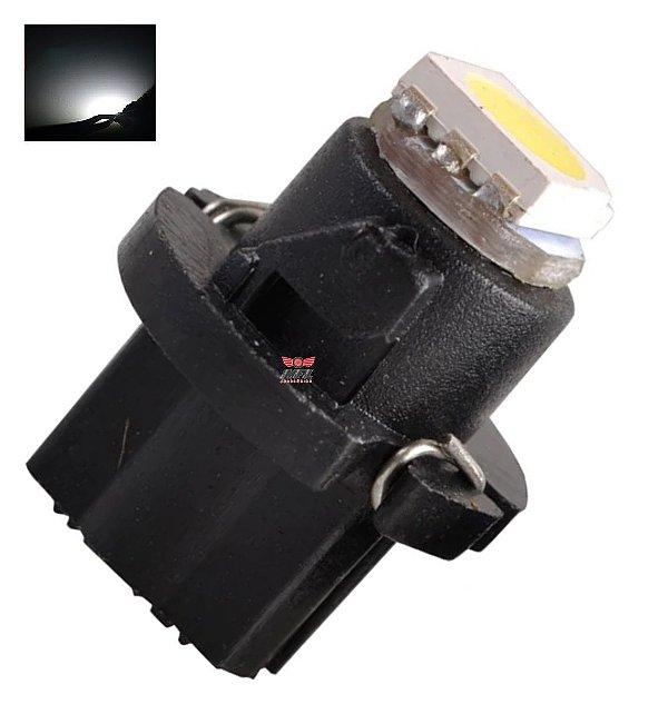 LAMPADA T6.5 12MM LED BRANCO 12V