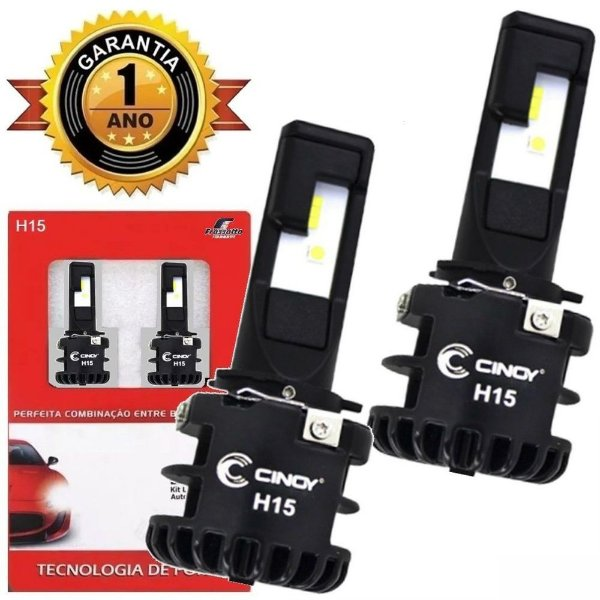 Kit Super Led Plus Ultra Cinoy 12v 24v H15
