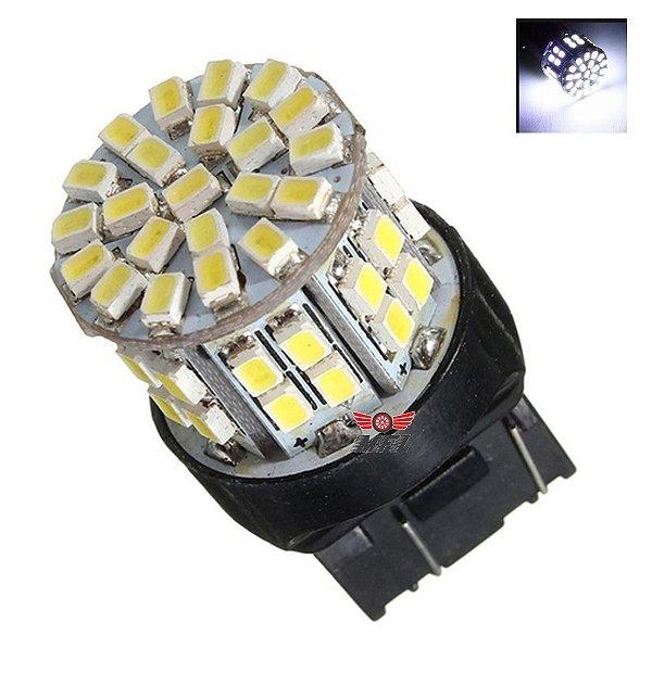 Lampada T20 50 Led 2 Polo 7443 W21w Branco 12v