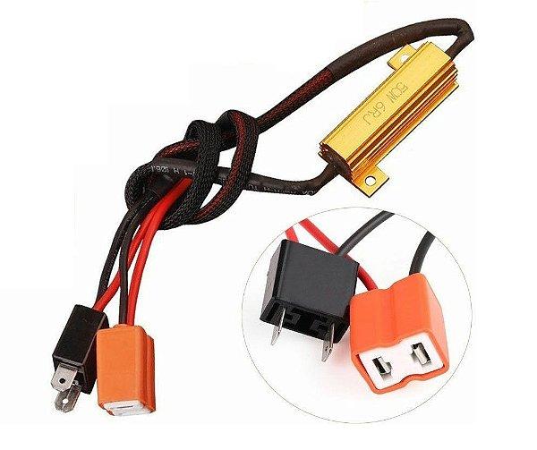 Resistor Canceller Lampada H7 50w Livre Erros (unidade)