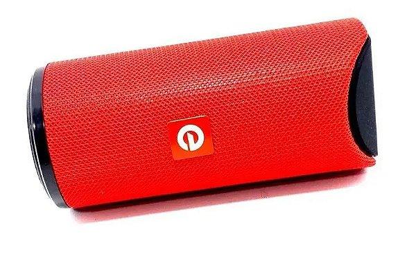 Caixa Caixinha De Som Exbom Cs-m13bt Portátil Sem Fio Mp3 Fm Vermelha