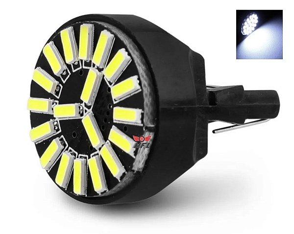Lampada T20 Cambus 19 Led 2 Polo 7443 W21w Branco 12v
