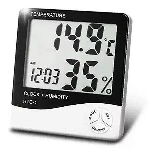 Termometro Higrometro Digital 2 Digitos HTC-1