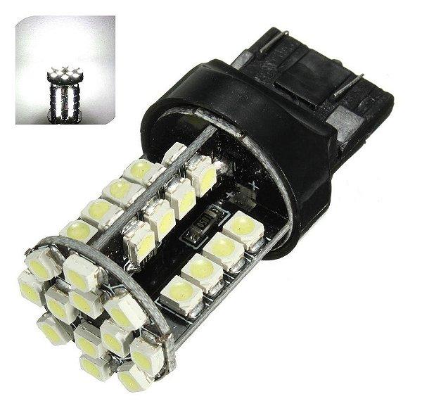 Lampada T20 Cambus 44 Led 1 Polo 7440 W21w Branco 12v