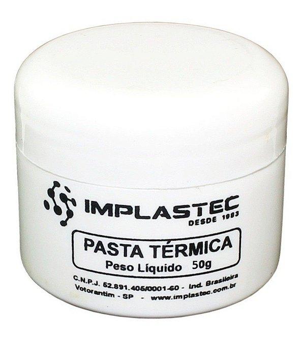 Pasta Térmica 50g Pote Implastec Cpu
