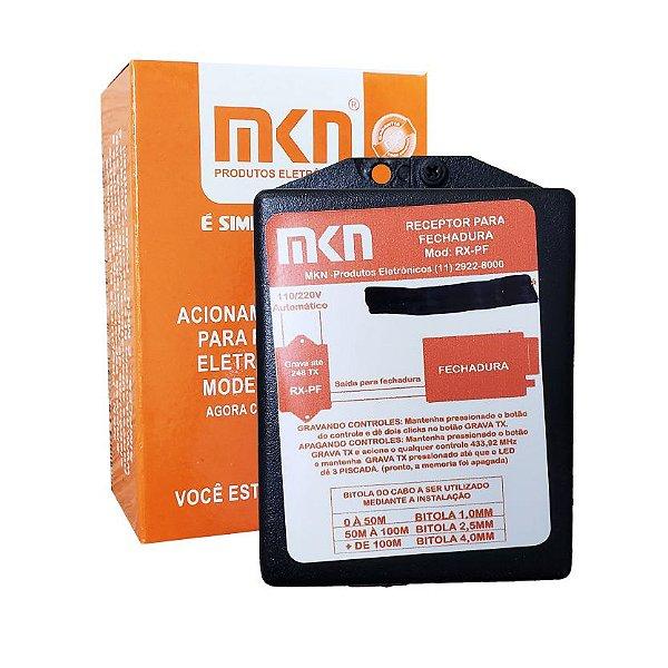 Receptor com Fonte para Fechadura - Mkn