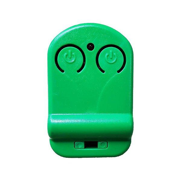 Controle Remoto para Portão 433mhz Verde - Tranque
