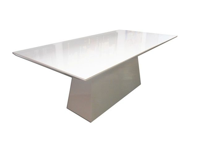 Mesa de jantar laca bege
