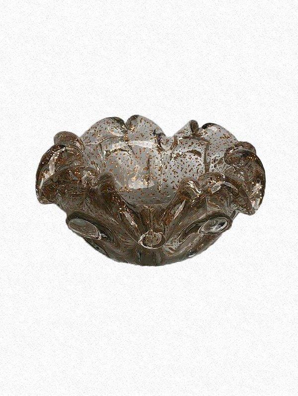 Bowl Incolor C/ Dourado