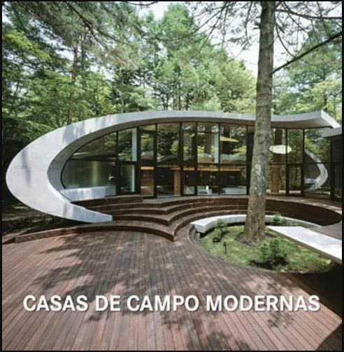 Livro - Casas de campo modernas