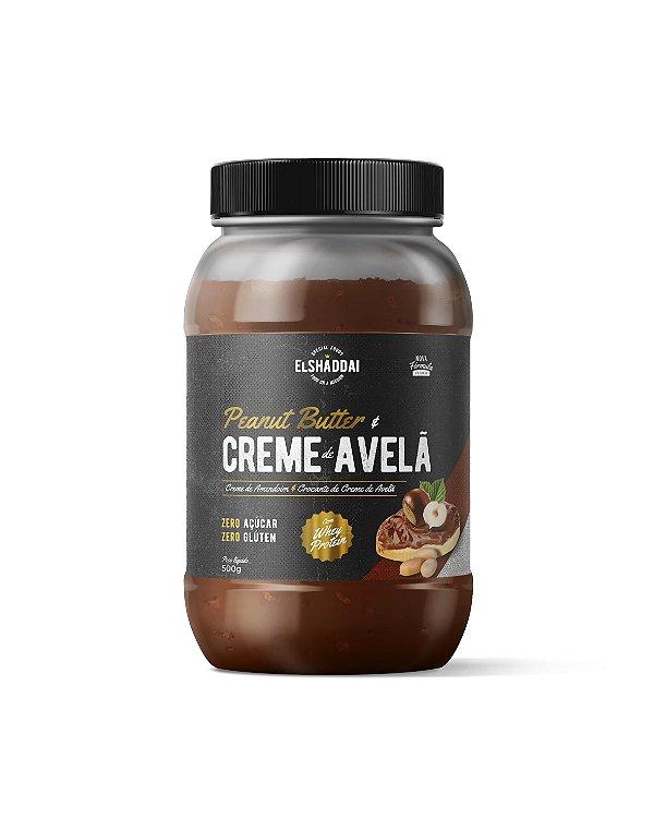 Pasta de Amendoim com Whey e Avelã Zero açucar 500g