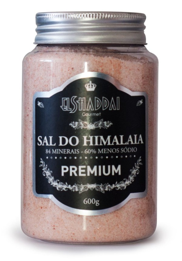 Sal do himalaia 600g -PREÇO PROMOCIONAL BLACK FRIDAY