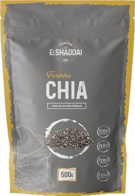 FARINHA DE CHIA - 500G - PREÇO PROMOCIONAL DE BLACK FRIDAY